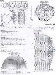 TAPETES E CONJUNTOS BANHEIRO (CROCHÊ) -