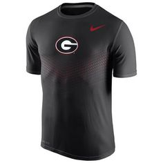 huge discount 57734 1c9ea Nike Georgia Bulldogs Black Sideline Legend Dri-FIT Performance T-Shirt  Georgia Shirt,