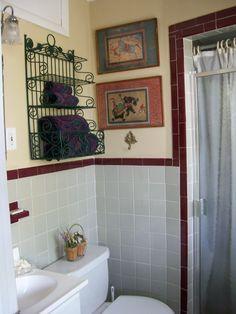 master bath w/vintage tiling
