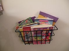 $3 Magazine Storage Boxes - use for coloring books, drawing pads ...