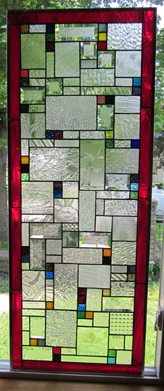 Stained Glass Heirlooms: Berto large