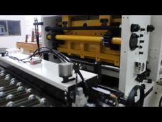 Decoiler straightener feeder machine 3 in 1 with cutting device, GLK4 800F
