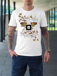 Mens Motorcycle Racer Graphic T-Shirt Death Race, Butterflies Flying, Mens Tops, T Shirt, Crown, Shopping, Fashion, Supreme T Shirt, Moda