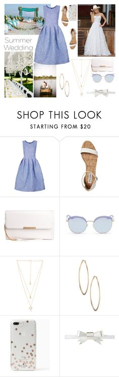 """""""Senza titolo #6576"""" by waikiki24 ❤ liked on Polyvore featuring Shrimps, Stephane + Christian, Natalie B, Lydell NYC, Kate Spade and Rodarte"""