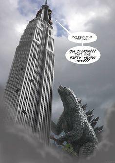 Toho Kingdom - Godzilla 2014 fan art