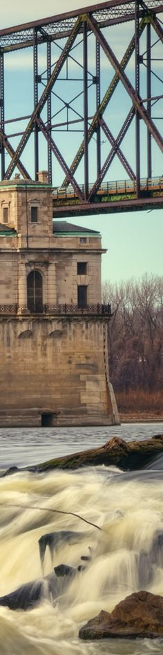 'Chain Of Rocks Castle' ~ St. Louis, MO - Crop For Pinterest. See full photographs and keep up with me at: www.Facebook.com/AaronFuhrman #Missouri #Photography by #AaronFuhrman