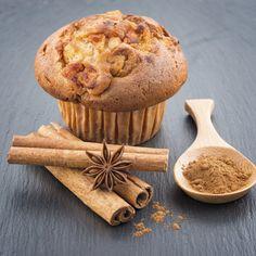 Muffins de Canela y Manzana