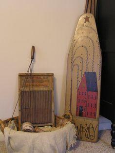 Prim ironing board