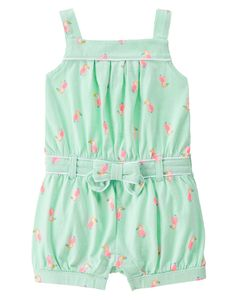 Neon Toucan Romper at Gymboree