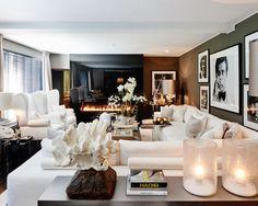 The Netherlands / Huizen / Head Quarter / Living Room / Ron Galella / Eric Kuster / Metropolitan Luxury