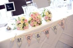 Top table at the Bay Tree Hotel