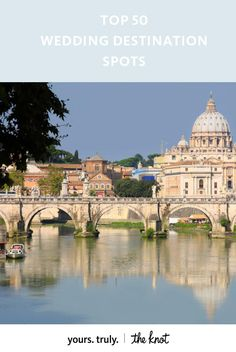 """Whether you say """"I do"""" in an extravagant baroque palace or a simple rustic villa, Rome is the perfect place for your dream wedding."""
