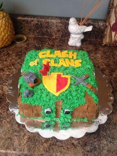 Kakes by Kaycie Clash of Clans Cake
