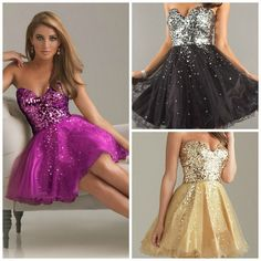 I found 'Shining Gold Purple Black Attire Bodice Short Bridal Prom Cocktail Party Evening Dress Teen Cute' on Wish, check it out!