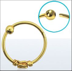 Tribal Indian Gold Plated Hoop - bought this and it's super cute!  I purchased this and it's really cute. I love it.