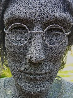 John - Ivan Lovatt - Chicken Wire Sculpture