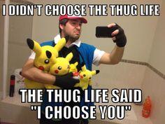 Thug Life Pokemon