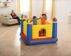 Intex Jump O Lene Castle Inflatable Bouncer, for Ages Inflatable Bounce House, Inflatable Bouncers, Ball Pit Castle, Friendship House, Bouncy House, Beach Hacks, Best Amazon Deals, Lego Friends, Games