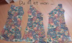 Tissu élasthanne de Toto Tissus   (Clin d'oeil à notre virée avec le Normandy Sew System)   Machine à coudre et/ou surjeteuse   Patron ...