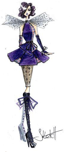 Tartan Lace by SketchDrayton
