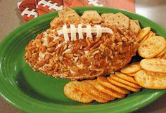 The Ultimate Football Cheese Ball!
