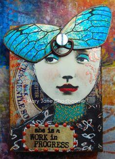 Artist Trading Block by Mary Jane Chadbourne/Desert Dream Studios