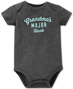 Carter's Baby Boys' Grandma's Major Hunk Bodysuit - Kids - Macy's