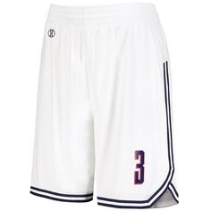 Adidas Basketball Shorts, Augusta Sportswear, Basketball Legends, White Jersey, Modern Fabric, White Outfits, Vintage Looks, Navy And White, White Shorts