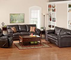 simmons lowell espresso living room furniture collection at big lots