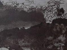 """Ce détail d'un dessin de Victor Hugo représente une colline recouverte d'un forêt où se promène le """"bel adolescent Avril"""", surmonté de la dentelle de ses rêves - Lié au poème """"Vers 1820"""" du recueil """"Les Contemplations"""" (""""Aurore"""") de ce même Victor Hugo. Victor Hugo, Statues, Avril, Oeuvre D'art, Les Oeuvres, Illustrations, Writing, Drawings, Teen"""