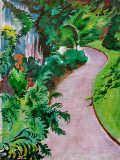 Gartenweg von August Macke