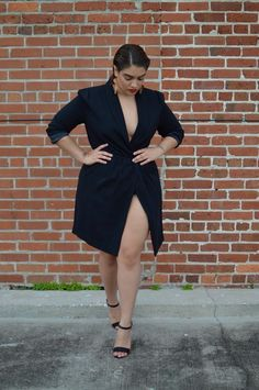 …but she's probably best known as a plus-size, street style fashion blogger.   15 Style Tips From Nadia Aboulhosn, Your New Fashion Inspiration