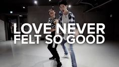 Bongyoung Park and May J Lee teach choreography to Love Never Felt So Good by…