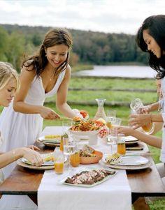 Girlfriends and summer food = foodie fun! #SummerFoodie