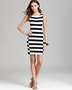 Theory Sweater Dress - Lasina Stripe | Bloomingdale's