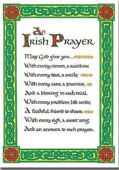 Irish Prayers on Pinterest | Irish Prayer, Prayer and ...