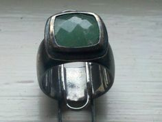 Found this silver jade ring while beach metal detecting. Metal Detecting Finds, Jade Ring, Gemstone Rings, The Incredibles, Beach, Silver, Jewelry, Jewlery, Money