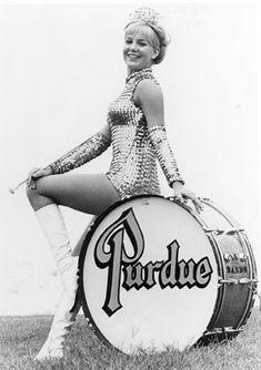 Purdue's first Golden Girl.