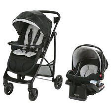 Views Travel System - Frankie. 7 Ways to Ride in an ultra-lightweight stroller; Travel system includes best selling Graco SnugRide 35 LX Click Connect Infant Car Seat. An innovative ultra-slim fold to make storing easy for parents; Locking front swivel wheel; Extra-large basket to hold all your essentials. - Baby faces you or the world with reversible car seat stroller; Reclining seat converts to cozy infant bassinet - Removable body support and harness covers keep baby comfortable;...