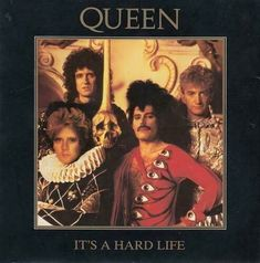 "1984 7"" vinyl sleeve front (UK). Life Is Hard, The Life, Queen Albums, Princes Of The Universe, Vinyl Sleeves, Uk Singles Chart, Roger Daltrey, Queen News, British Rock"