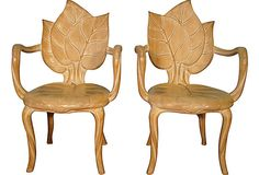 Leaf Armchairs, Pair on OneKingsLane.com