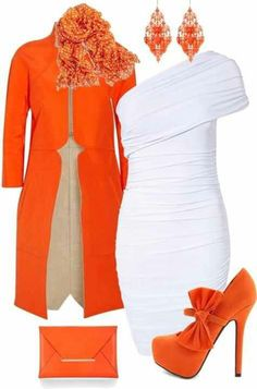 Tangerine Accents #OnlineShoes #tangerine