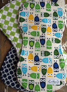 Handmade Burp Cloths - The Posh Pea Boutique