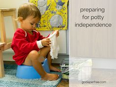 How can we prepare the bathroom environment to promote potty independence? These tips apply to families practicing elimination communication and potty training