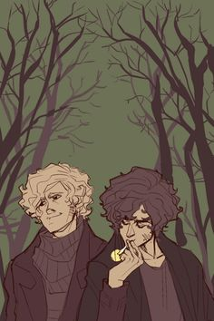 Enjolras and Grantaire