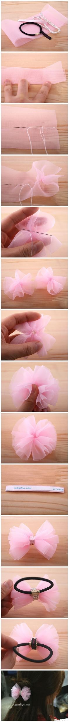 DIY Hair Bow diy crafts craft ideas easy crafts diy ideas crafty easy diy craft jewelry diy bow jewelry diy diy accesories