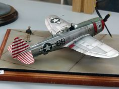 Plastic Model Kits, Plastic Models, Scale Models, Aircraft Propeller, Camouflage, P 47 Thunderbolt, Model Hobbies, Military Modelling, Vintage Airplanes