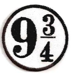 Harry Potter Platform 9 3/4 Patch by StoriedThreads on Etsy, $7.00