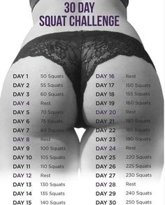 It's a myth, that ever elusive perfect butt, or is it? Swimsuit season is here but it's not too late. Give this 30­day squat challenge a try. Wanna build those glutes, this is the key to booty nirvana. Anyone can do this at home or at work or at the gym,