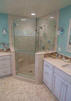 Bathroom Remodel Ventura County spanish tile shower #remodel #marrokal | bathroomsmarrokal